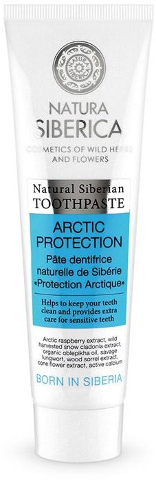 TOOTHPASTE TEETH ECO PROTECTION 100 g - NATURA SIBERICA