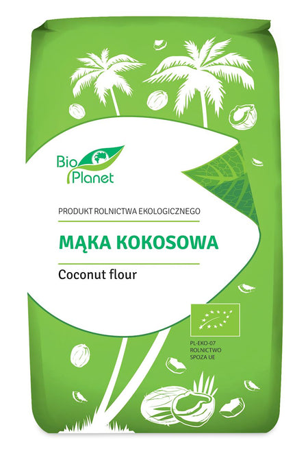 COCONUT FLOUR BIO 400 g - BIO PLANET