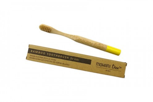 TOOTH BAMBERS FOR CHILDREN YELLOW HAIR SOFT - MOHANI