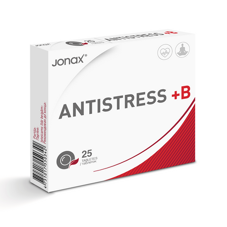 Antistress +B 25 tabletes