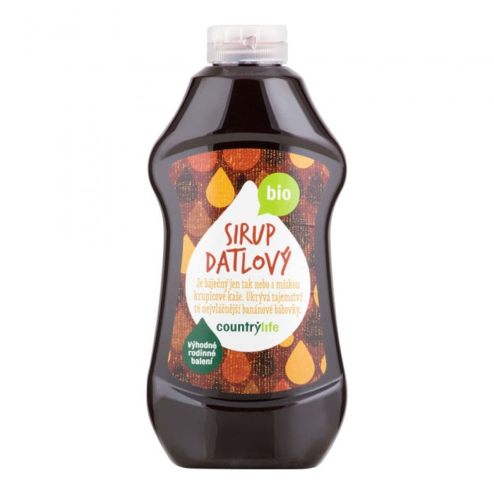Dateļu sīrups, BIO, 874ml