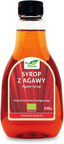 Agaves sīrups, BIO, 330g (239 ml) - BIO PLANET