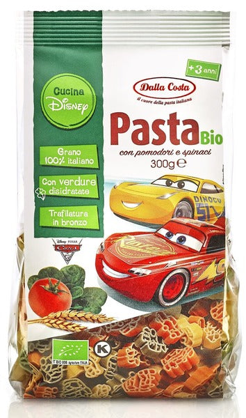 "Makaroni ""Disney Car"", BIO, 300g - Dalla Costa"