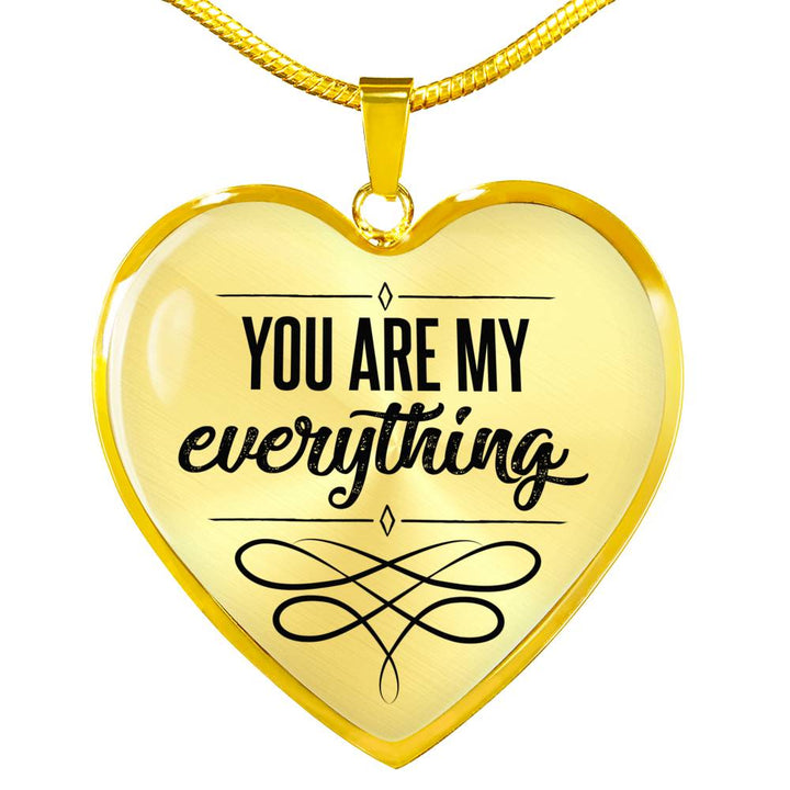 You Are My Everything Heart Necklace Creek9