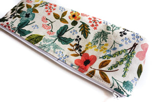 Pencil Pouch - Botanical Canvas