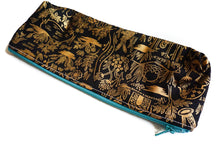 Load image into Gallery viewer, Pencil Pouch - Metallic Wonderland Map