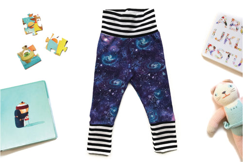 Grow With Me Pants - Galaxy