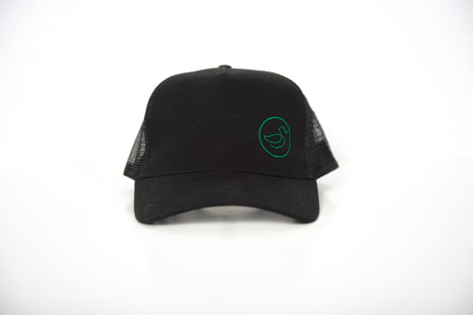 Mesh Back - Shadow Black/Green Variant