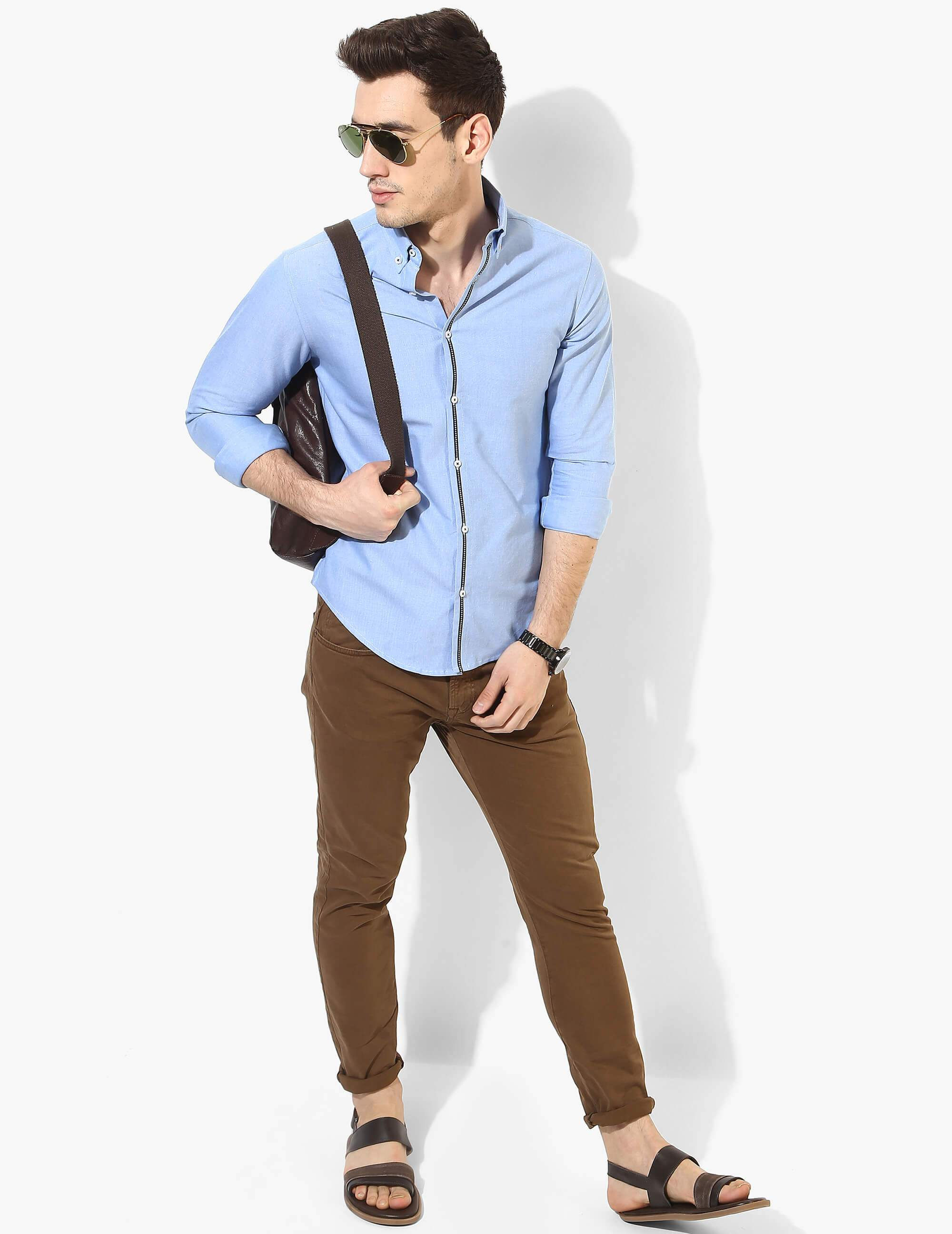 Benignant Light Blue Oxford Shirt
