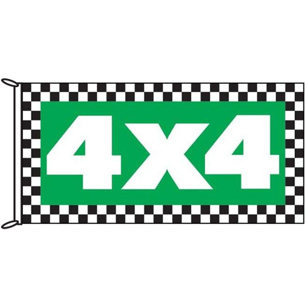 4x4 Chequered Flag