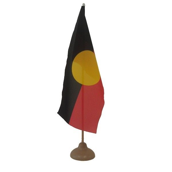 Aboriginal Desk Flag