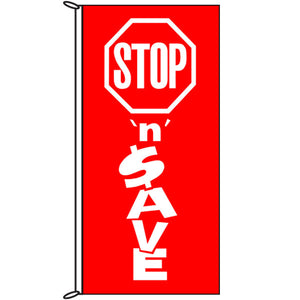 Stop 'N' Save Banner