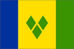 St Vincents and The Grenadines Flag
