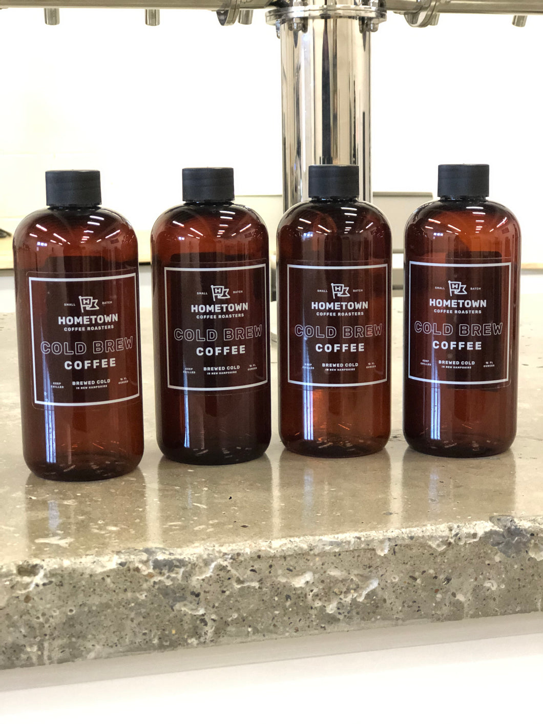 4 Pack of 16oz Cold Brew