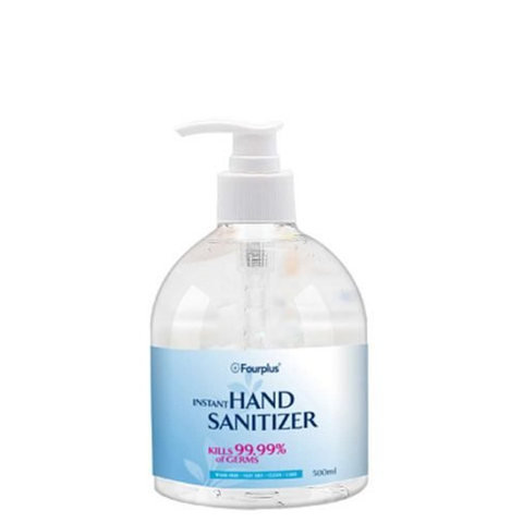 Hand Sanitizer fourplus - 17.5 oz