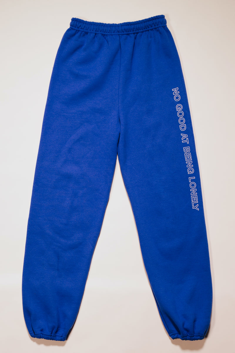 No Good Sweatpants In Royal Blue