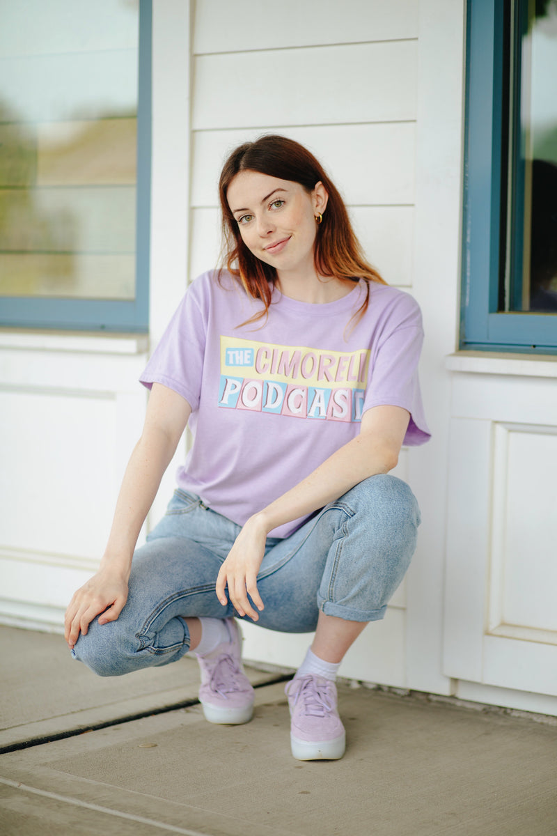 The Cimorelli Podcast Lavender Tee