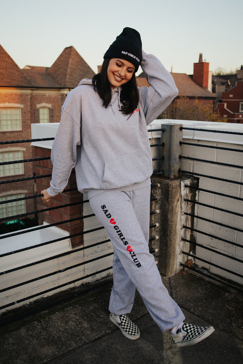 Sad Girls Club Grey Sweatsuit Bundle