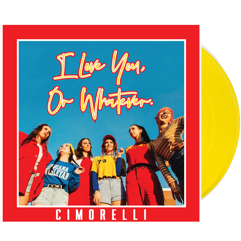 I Love You Or Whatever Vinyl Record