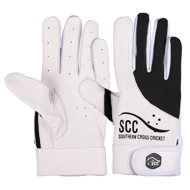 SCC Assassin Slim Fit Indoor Cricket Glove-Black