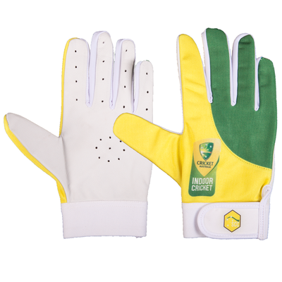SCC Australian Slim Fit Indoor Cricket Glove-Green