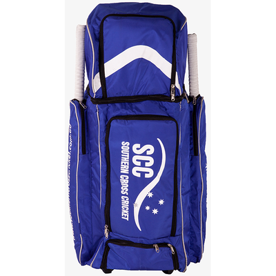 SCC Duffle Wheelie Cricket Bag - Blue