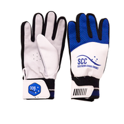 SCC Tyrant Traditional Indoor Cricket Glove-Blue