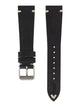 Handmade German Graf Vintage Watch Strap Black Back