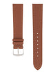 Handmade German Di-Modell Derby Medium Brown Steel-colored Buckle Front