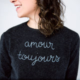 """amour toujours"" ""love always"""