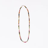 "Multi-Colored Small Tourmaline 17"" Necklace"