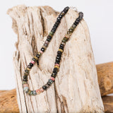 "Multi-Colored Large Tourmaline 17"" Necklace"