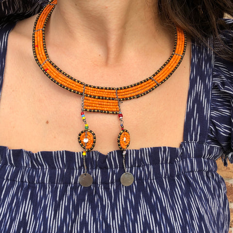 Naranja Necklace