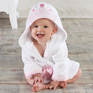"""Little Princess"" Hooded Spa Robe (Personalization Available)"