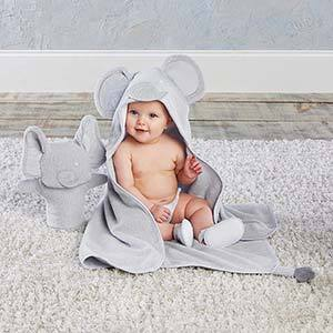 Little Peanut Elephant 3-Piece Bath Set