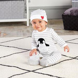 """Penguin PJs"" 2-Piece Layette Set"