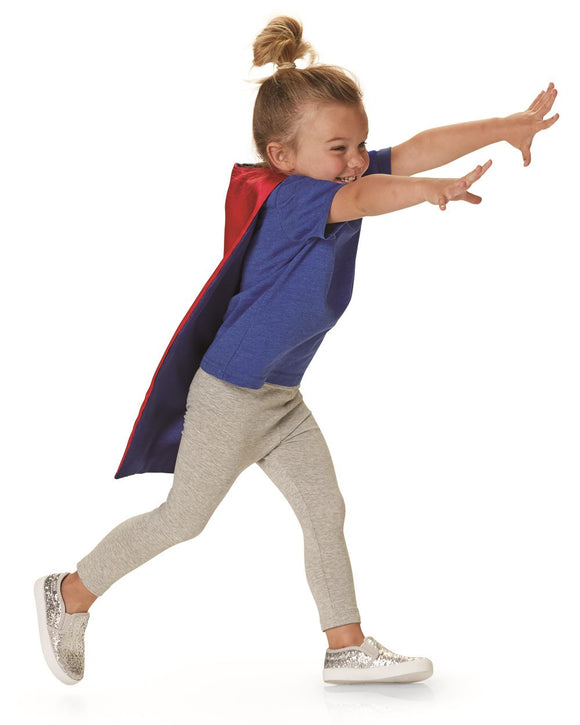 Toddler Reversible Superhero Cape