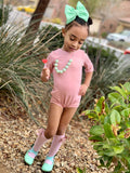 Powder Pink Leotard