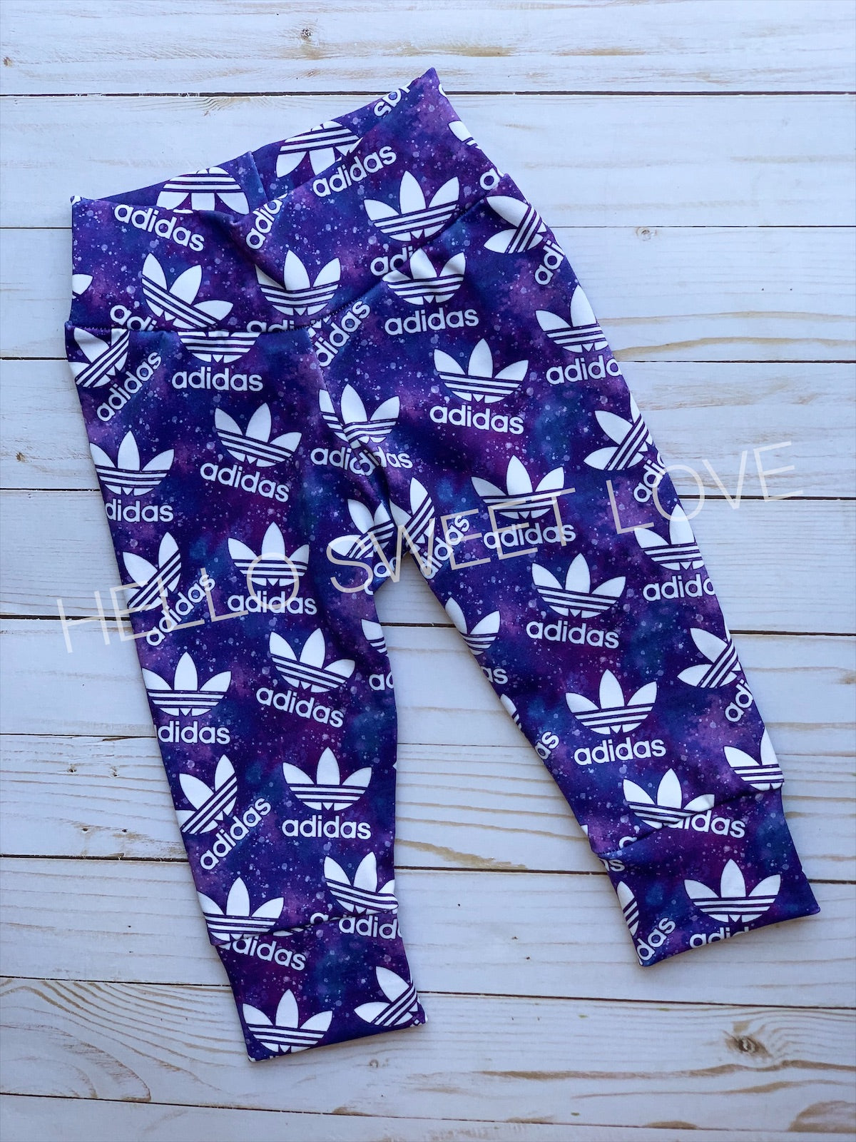 Purple Adidas- bottoms