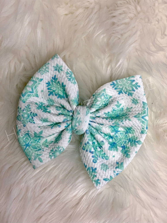 RTS: SNOWFLAKE BIG BOW