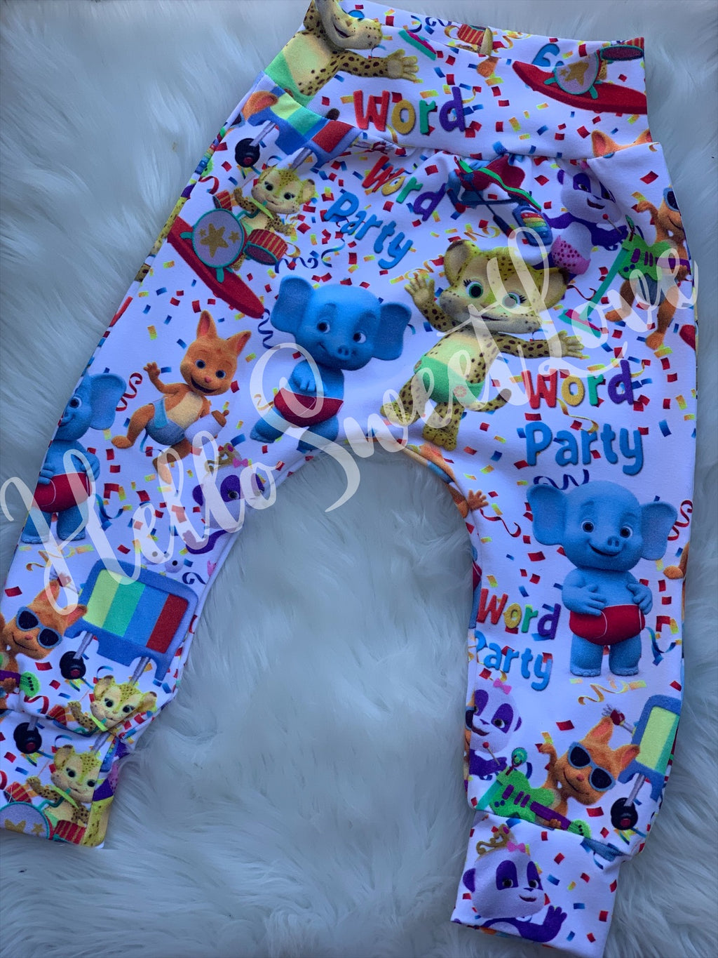 WORD PARTY PANTS