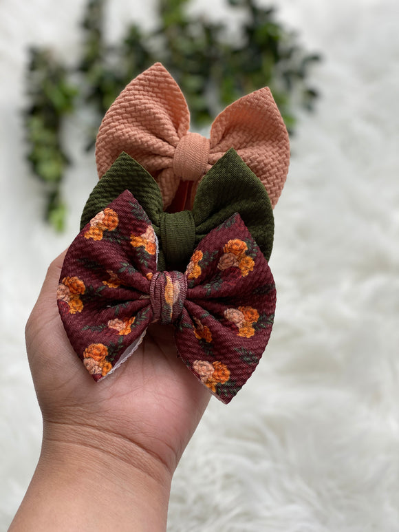 RTS- set of 3 mini bows