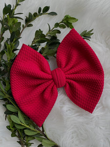 "RTS-red  6"" bow"