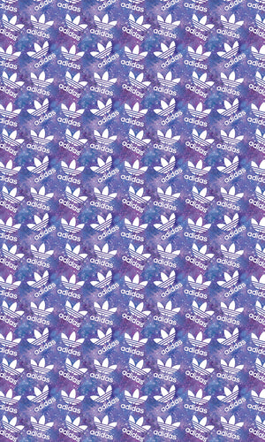 PURPLE ADIDAS- bows/topknots