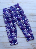PURPLE ADIDAS - bottoms