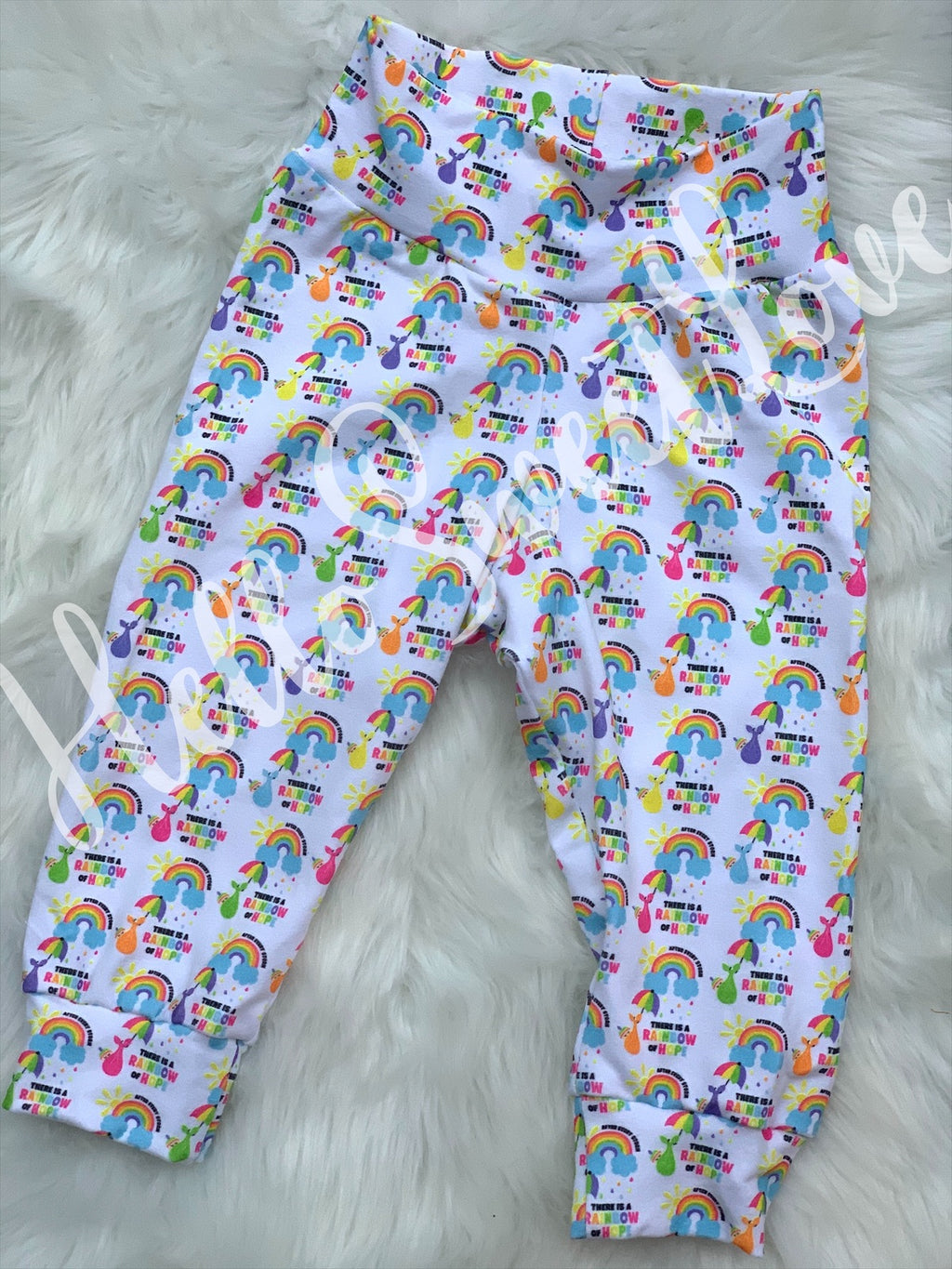 RTS Rainbow Baby Leggings