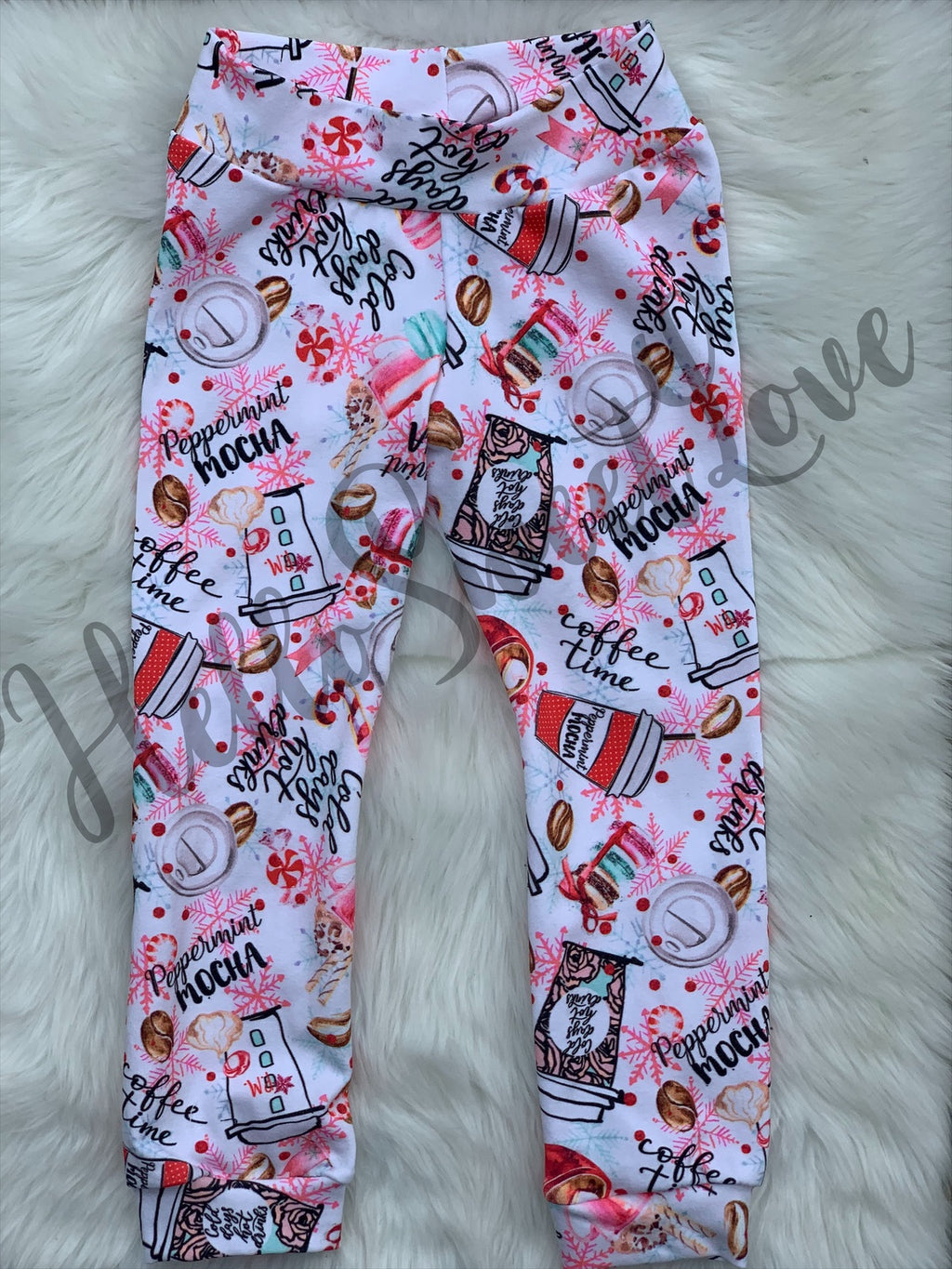 RTS Peppermint mocha pants