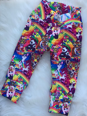 Lisa frank leggings