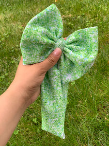 RTS faux green glitter HEADWRAP