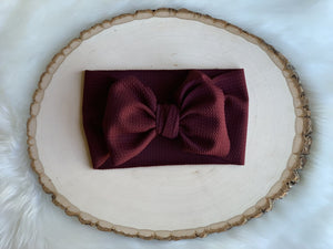 Burgundy Headwrap